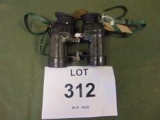 AVIMO L12A1 SELF FOCUSING BINOS UK ISSUE. 7X42 C/W FILTERS
