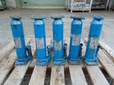Q 5 Weber 10 Tonne Hydraulic Jacks