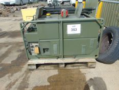 LISTER/ PETTER 5.6 KVA 240 Volt SINGLE PHASE 50 Hz Diesel GENERATOR 850 Hrs ONLY
