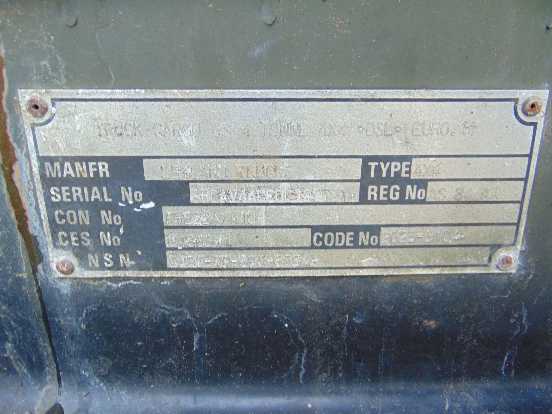 Leyland Daf 45/150 4 x 4 - Image 11 of 22