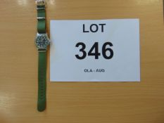 CWC W10 SERVICE WATCH UNISSUED WITH NATO MARKINGS DATED 1997