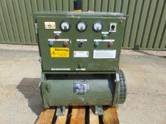AC/AC 15 KVA Motor Generator 415/380 volt 50 Hz 115/200 V Output