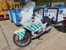 BMW 850RT Motorbike from a UK Film Production.