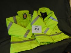 2x UNISSUED DICKIES WATER PROOF JACKETS SIZES M & L