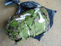 Ex Reserve Unissued 4.5m x 4.5m Original Camouflaged Woodland Netting