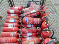 Approx 80 x Mixed Fire Extinguishers
