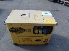 KING POWER 10000 LN SILENT DIESEL GENERATOR 230/110 VOLT SINGLE PHASE 50 Hz