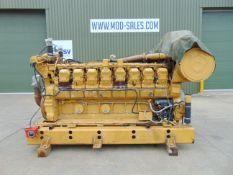Caterpillar 3516 Dita V-Block 16 Cylinder Diesel Engine