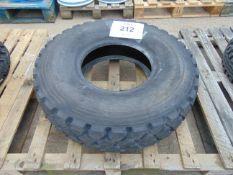 1 x Michelin XZL 255/100 R16 Tyre