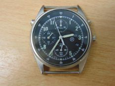 SEIKO R.A.F. ISSUE PILOTS CHRONO WATCH NATO MARKED DATED- 1993