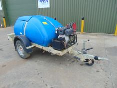 Western Trailer Diesel Pressure Washer Bowser