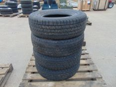 4 x Continental Cross Contact LX 255/70 R16 M and S Tyres