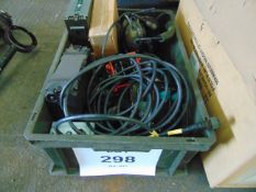 Land Rover FFR Clansman Leads, Headsets, Batteries, Radio Boxes etc