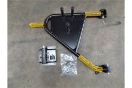 Land Rover Swing Out Spare Wheel Carrier Kit VPLDR0129