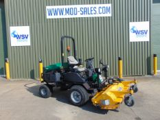 2014 Ransomes HR300 C/W Muthing Outfront Flail Mower. 2,475 hrs only