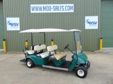E-Z-GO 6 Seater Golf Buggy / Estate Vehicle ONLY 1,327 Hours!