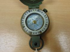 VERY NICE UNISSUED STANLEY PRISMATIC MARCHING COMPASS NATO MARKED