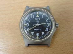 UNISSUED CWC W10 SERVICE WATCH WATER RESISTANT TO 5ATM- DATED 2004