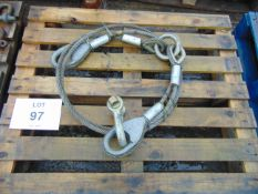 Unissued Recovery Wire Rope Assy