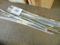11 x Unissued Clansman Radio Antenna Sections