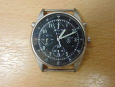 SEIKO R.A.F. ISSUE PILOTS CHRONO NATO MARKED UNTRIED AND UNTESTED - DATE 1995