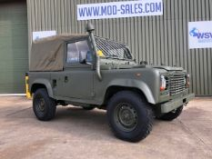 Land Rover Defender 90 Wolf Air Portable Soft Top