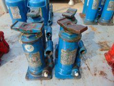 Q 4 Weber 6 Tonne Hydraulic Jacks