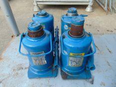 Q 4 Weber 12 Tonne Hydraulic Jacks