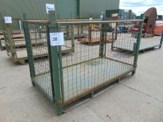 Heavy Duty Metal Stackable Stillage / Post Pallet