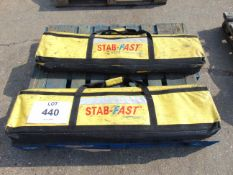 2 x Weber Rescue Stab-Fast Vehicle Stabilisation Systems
