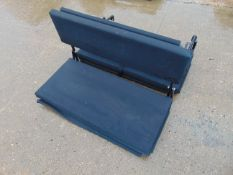2 x Exmoor Trim Land Rover Defender Fold Down Rear Bench Seats as shown