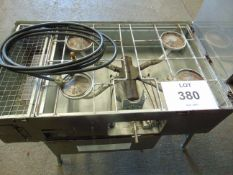 FIELD COOKING OUTFIIT No 5 C/W GAS PIPES AND OVEN - EX RESERVE