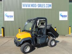 2012 Very Nice JCB Workmax 4WD Diesel Utility Vehicle c/w Electric Tipping Body 836 hours only