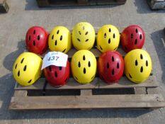 10 x Climbing-White Water Rafting-Kayak Etc Safety Helmets