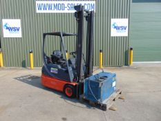 Linde E14-02 Electric 3 Wheel Counterbalance Forklift c/w Charger