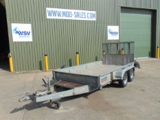 Nugent Twin Axle Plant Trailer with Ramp