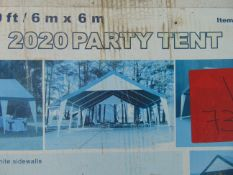 Unused Commercial Instant Pop Up Tent 20ft X 20ft
