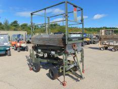 RAF Maintenance Unit UK Lift Hydraulic Access Platform SWL 272 Kgs