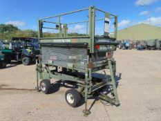 RAF Maintenance Unit UK Lift Hydraulic Access Platform SWL 272 Kgs