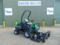 2012 Ransomes HR 3300T Outfront 3 Blade Hydraulic Rotary Mower. 4,560 hrs from UK Govt Contract.