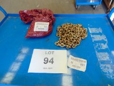 2x UNISSUED 4-5M RECOVERY CHAIN