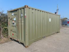 Frontline toilet and shower block unit