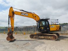 2015 JCB JS220 LC 22-tonne Tracked Excavator ONLY 1891 HOURS!