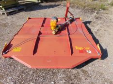 """2016 Teagle 510 5' 10"""" Offset Tractor Mounted Topper Mower with PTO Shaft"""
