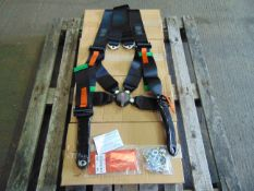 4 x Securon 720BL/V5 4 Point Troop Seat Restraint Harnesses
