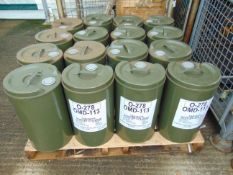 16 x Unused 25L Drums of OMD-113 High Quality Lubricating Oil