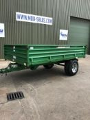 Marston DS 6 Tonne Tipping Trailer with Hydraulic Brakes MOD Contract