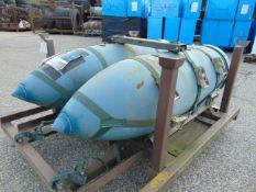 2 x Ex Reserve Harrier 1000lb Practice Bombs