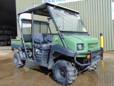 Kawasaki Mule 4010 4WD Diesel Utility Vehicle UTV c/w Power steering 2481 hours only 4 or 2 seat