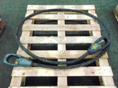 Heavy Duty 12.5 T Recovery Wire Rope Sling